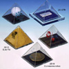 acrylic pyramid paper weights