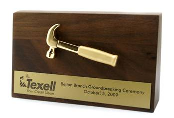 Handmade Hammer Plaque by Northeast Wood Products | CustomMade.com