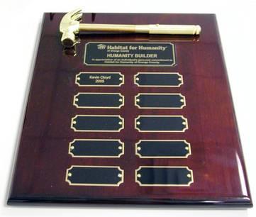 HAMMER AWARDS: Hammer Shaped Promotional Items, Logo Promotional ...