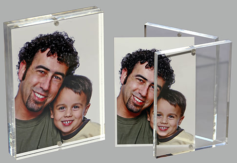 Acrylic Magnet Frames: acrylic photo frames, magnetic sandwich ...